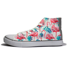 rivir-shoes - Tropical Birds : For Women - Rivir Shoes - High Top Sneakers