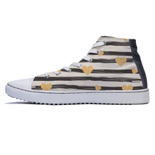 rivir-shoes - Heart of Gold - Rivir Shoes - High Top Sneakers