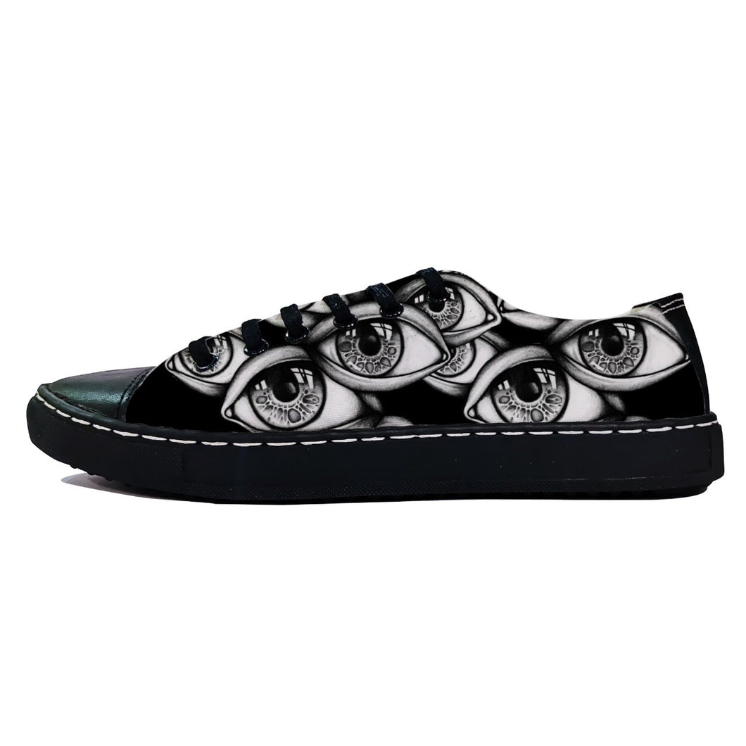 rivir-shoes - Watched Low - Rivir - Low Top Sneakers