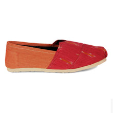 rivir-shoes - Pink Ikkat Handmade Espadrilles for Women - Rivir Shoes - Espadrilles