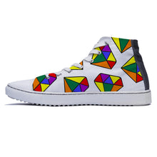 rivir-shoes - Shine like a Diamond - Rivir Shoes - High Top Sneakers