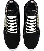Demonic Resurrection Canvas Sneakers - Rivir Shoes