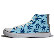 rivir-shoes - Blue High : For Women - Rivir Shoes - High Top Sneakers