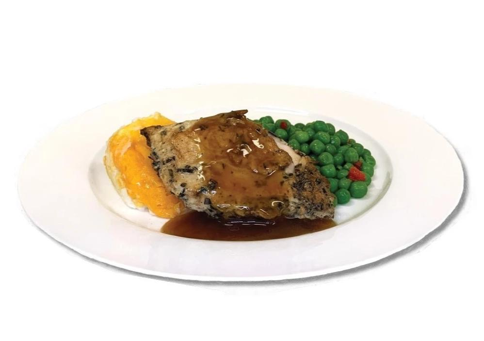 Pan Roasted Chicken Breast with Gravy
