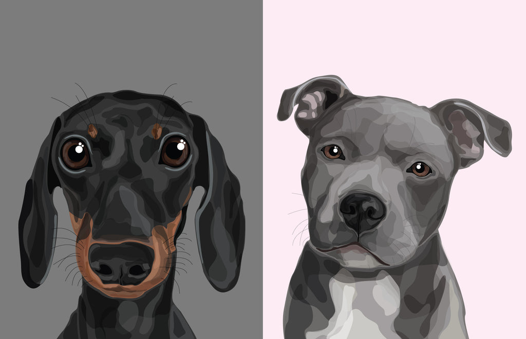 Pet Portrait by Make Like A Bandit