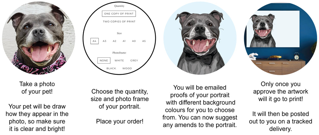 Pet Portraits by Make Like A Bandit