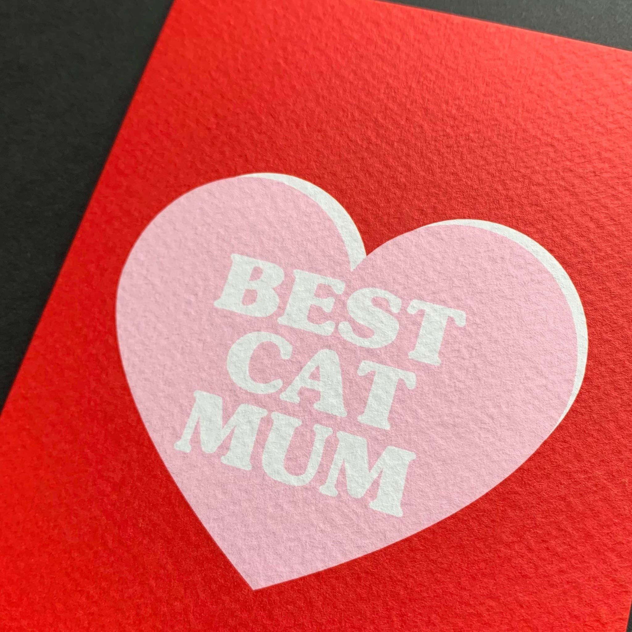 Best Cat Mum Card