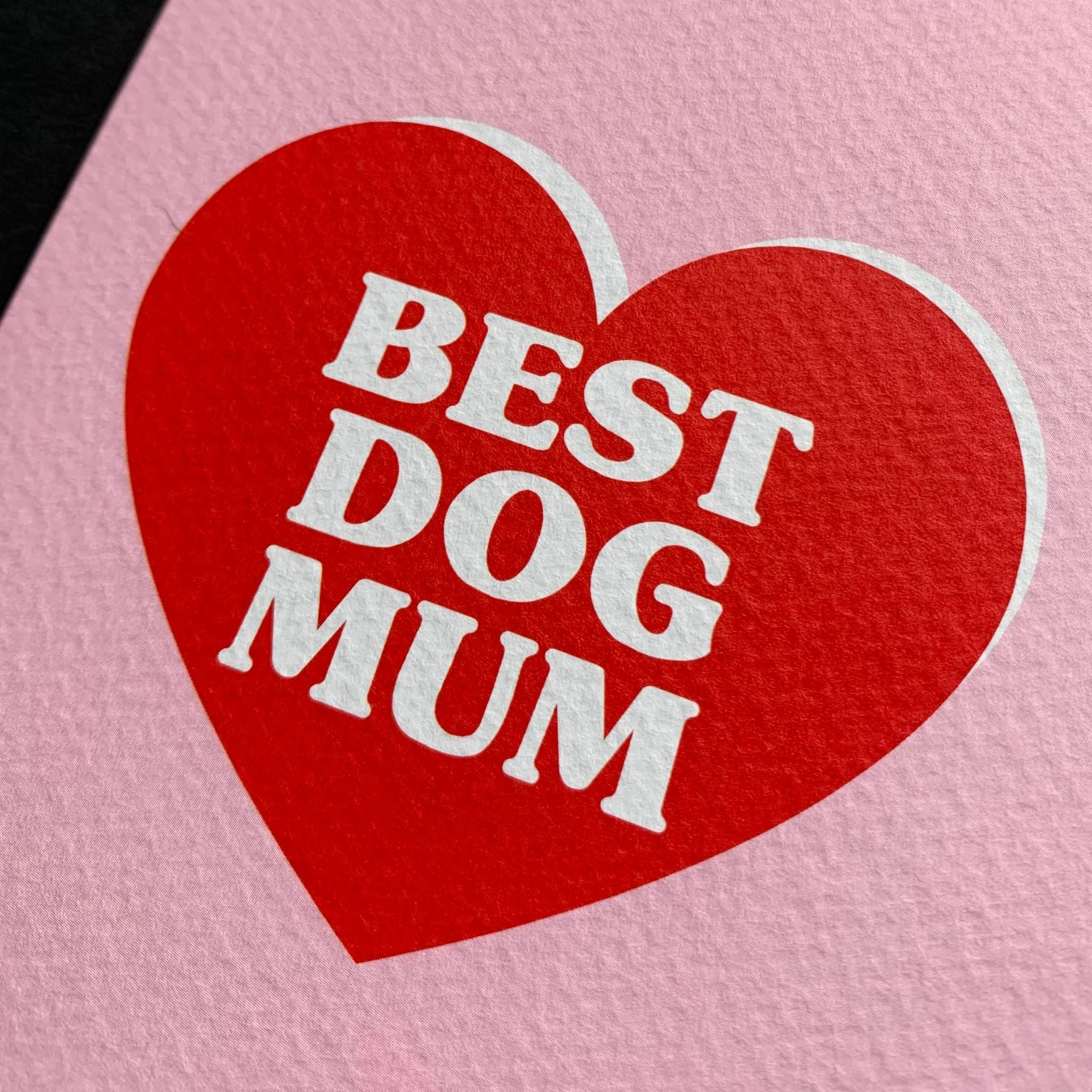 Best Dog Mum Card