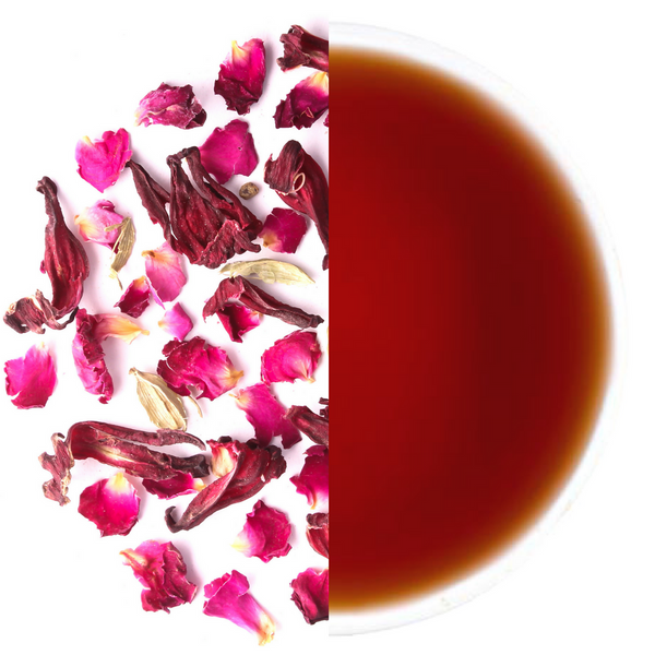 Hibiscus Rose Refresher - Herbal Tisane