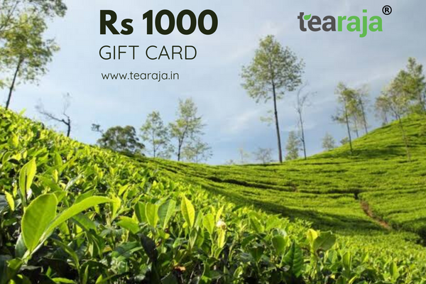 Tearaja E - Gift Card Rs 1000