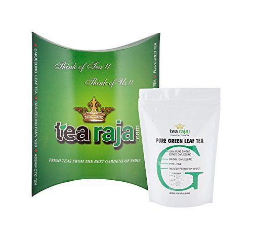 Tearaja Pure Green Leaf Tea 250 Gm