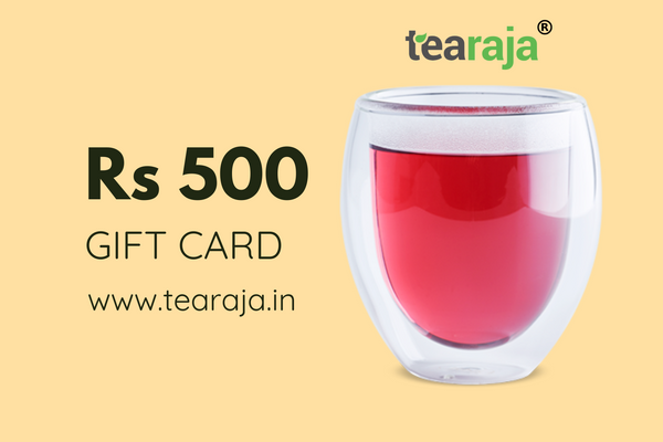 Tearaja E - Gift Card Rs 500