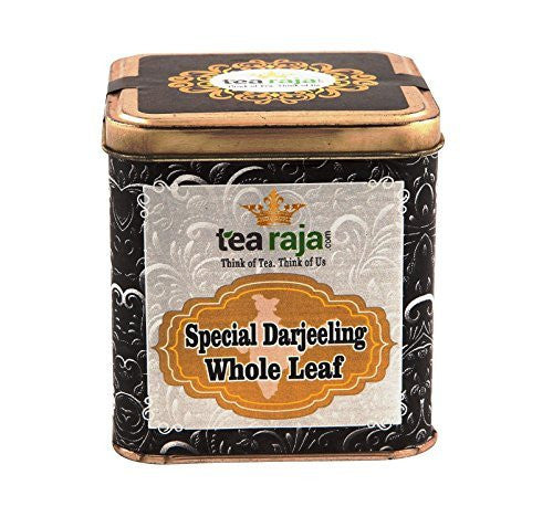Special Darjeeling Whole Leaf Tea 100g Tin
