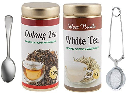 Oolong Tea (100Gms) & White Tea (50Gms) Combo Pack