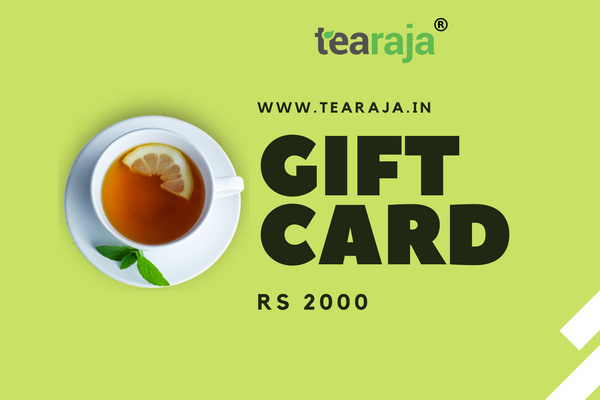 Tearaja E - Gift Card Rs 2000