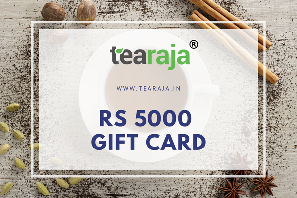 Tearaja E - Gift Card Rs 5000