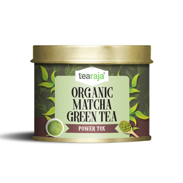 Organic Matcha Green Tea Power Tox