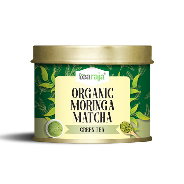 Organic Superfood Moringa Matcha Green Tea