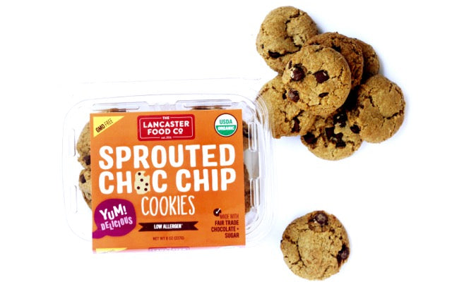 Organic Sprouted Chocolate Chip Cookies