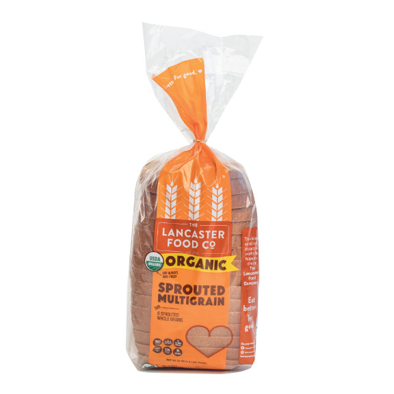 Organic Sprouted Multigrain Bread  (4 or 6 loaves)