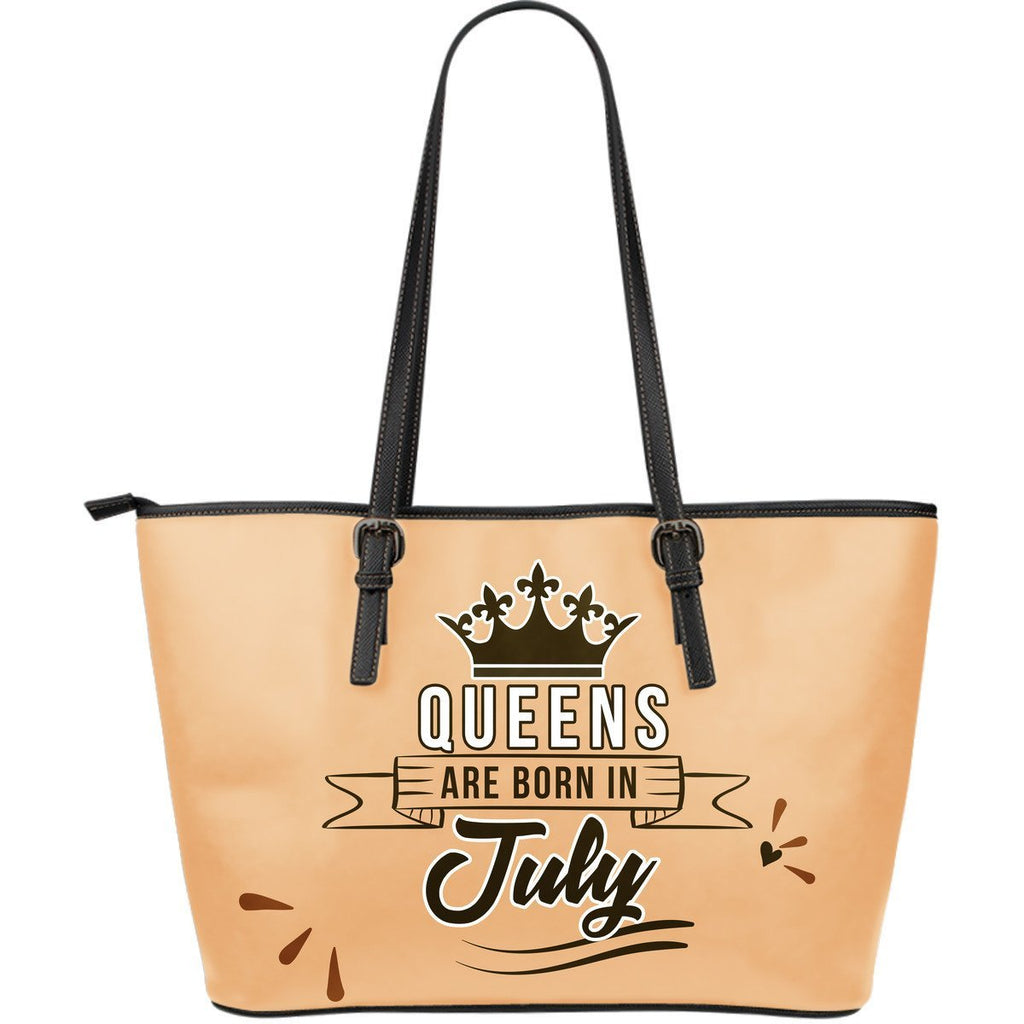 July Queen - Leather Tote
