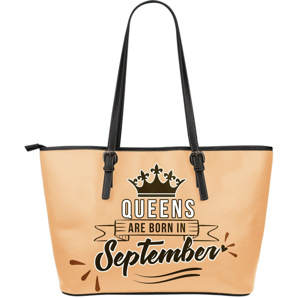 September Queen - Leather Tote