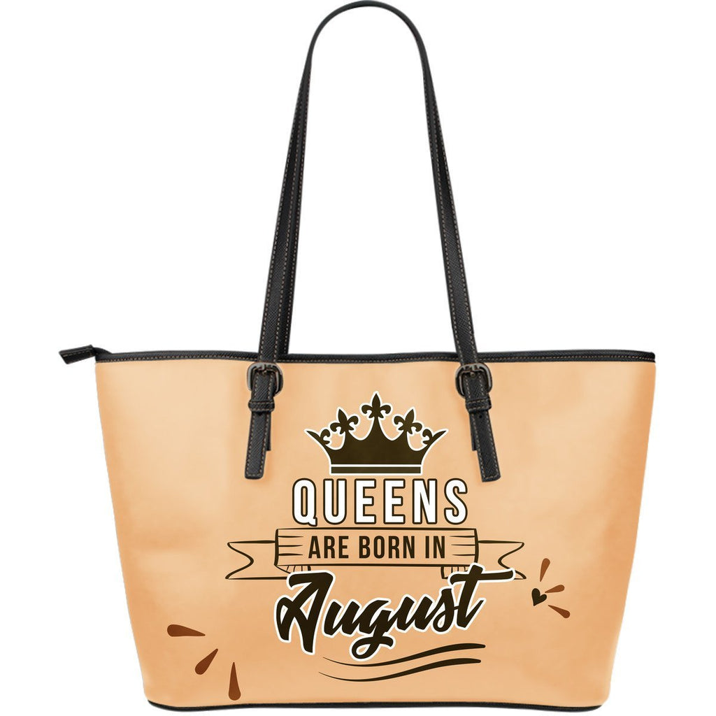 August Queen - Leather Tote