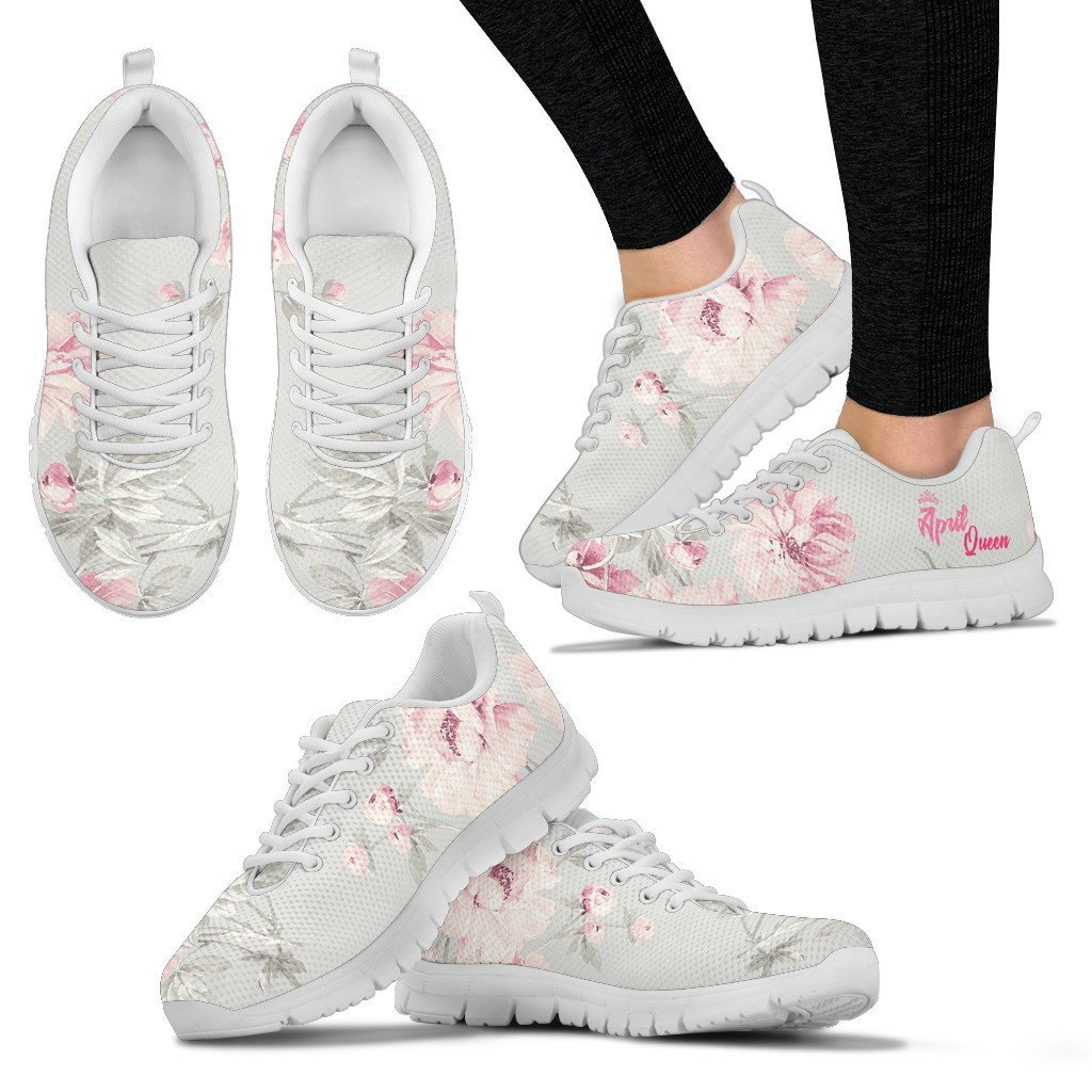APRIL QUEEN FLORAL SNEAKER
