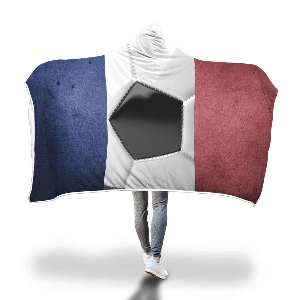 Limited Edition France Football 2018 Hooded Blanket