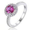 Genuine 1.2ct Tourmaline Ring (October)
