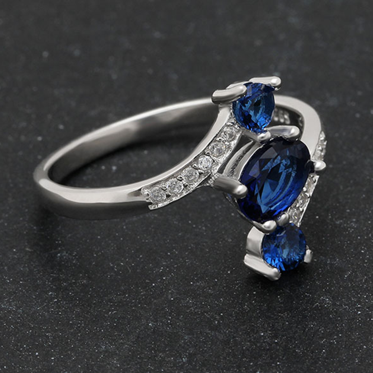 ring unique white s engagement gray products blue aurora rings gold green inspired nature sapphire diamonds