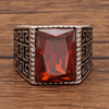 JULY BIRTHSTONE BAND (RUBY)