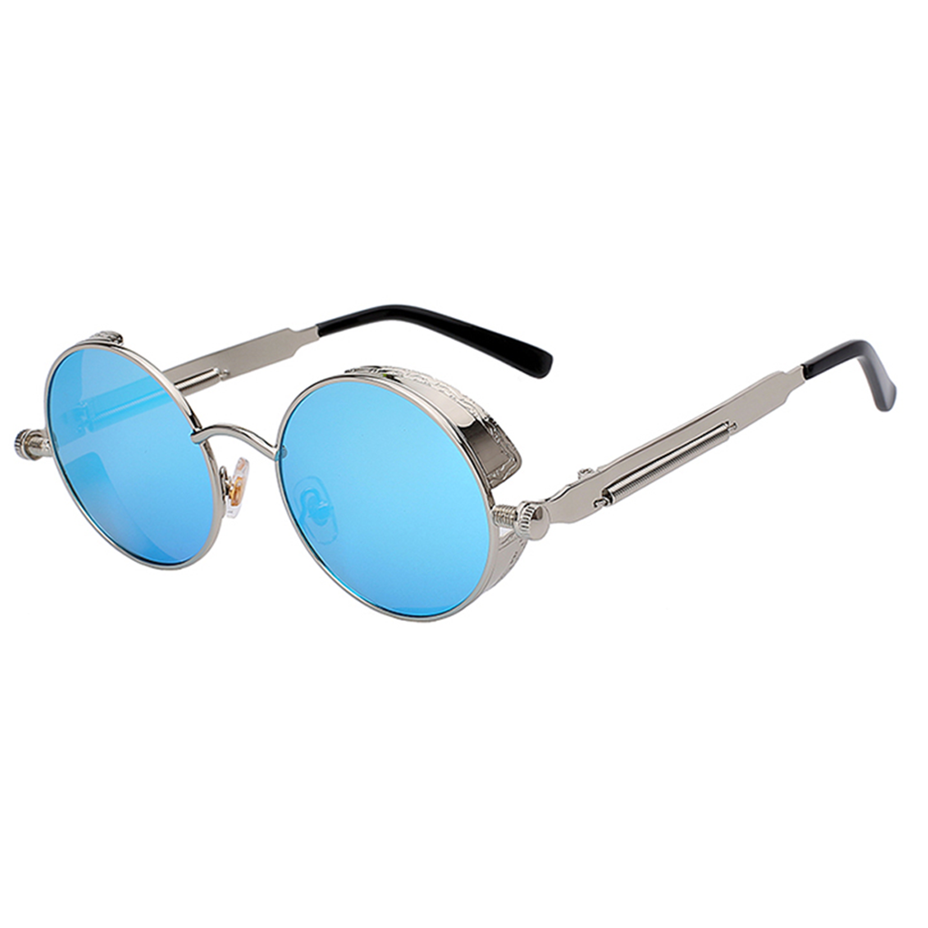 Retro Blue Topaz Sunglasses (December)