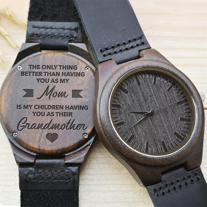 My Mom - The Only Thing - Wood Watch