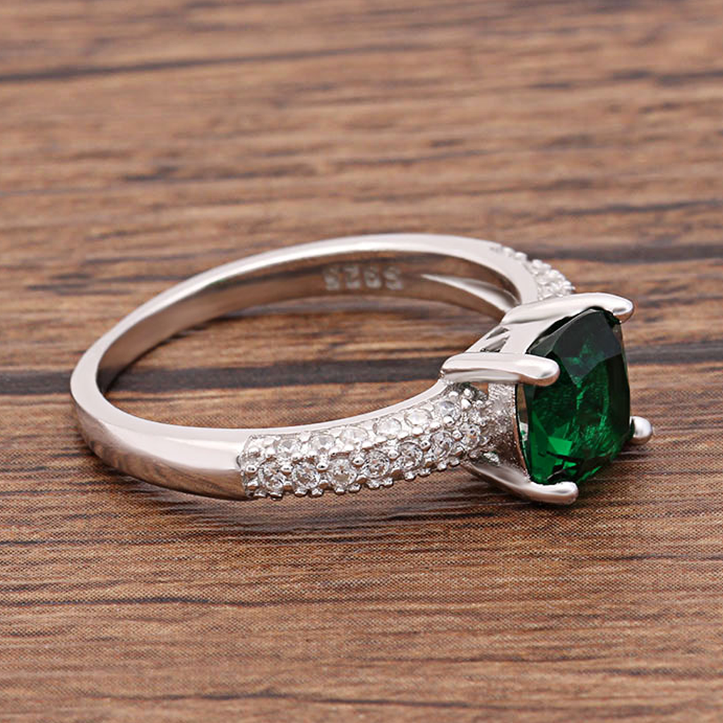 May Queen Emerald S925 Ring