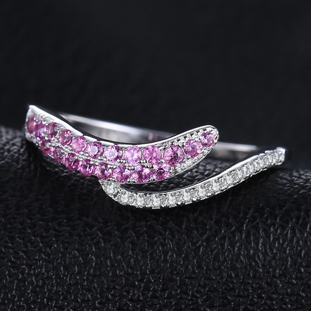 L'amour de la Reine 0.2ct Tourmaline S925 Ring (October)