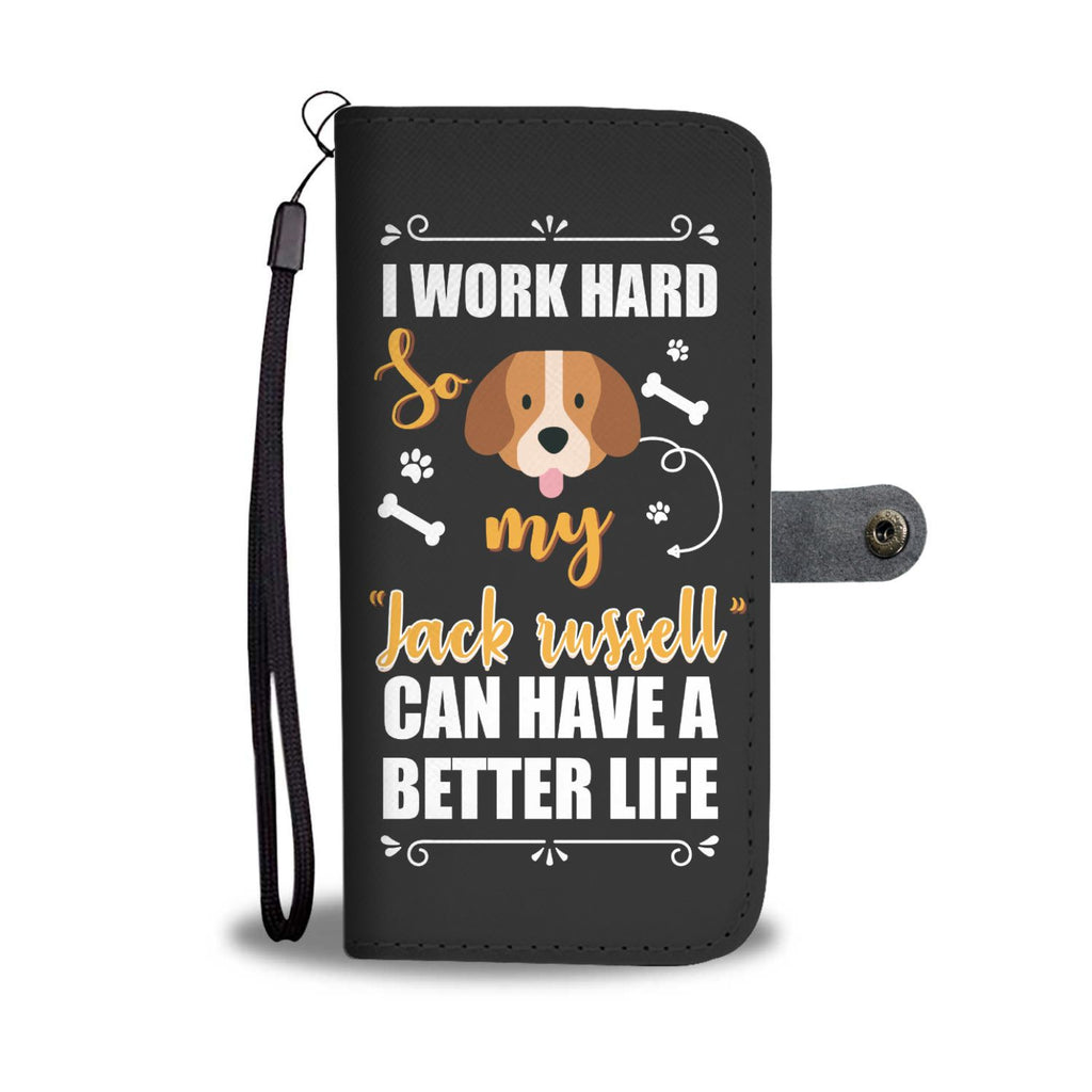 Jack Russell Wallet Phone Case