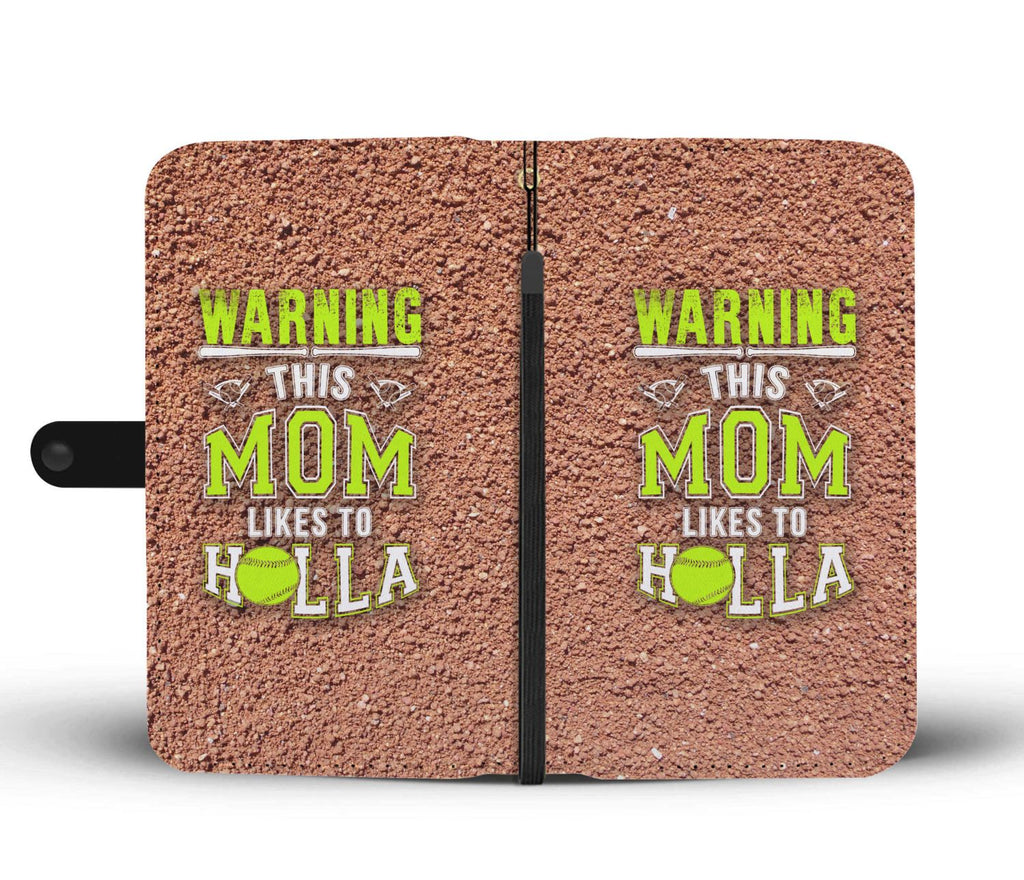 Softball Mom Wallet Phone Case