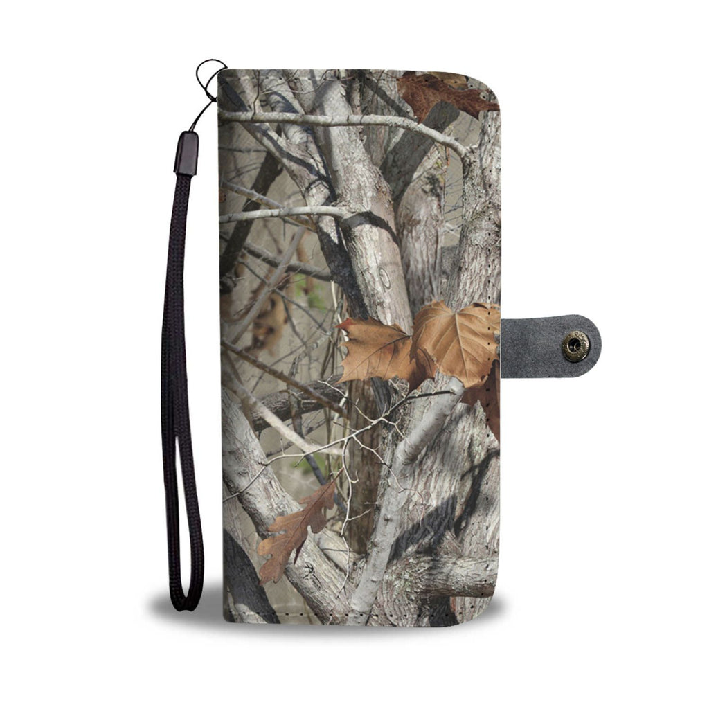 Realtree Camouflage Wallet Phone Case