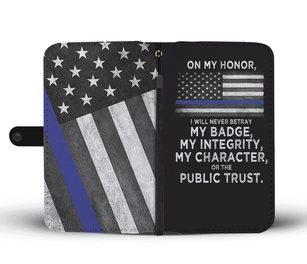 Law Enforcement's Oath Wallet Phone Case
