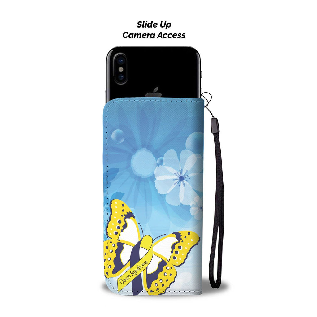 Down Syndrome Awareness Wallet Phone Case