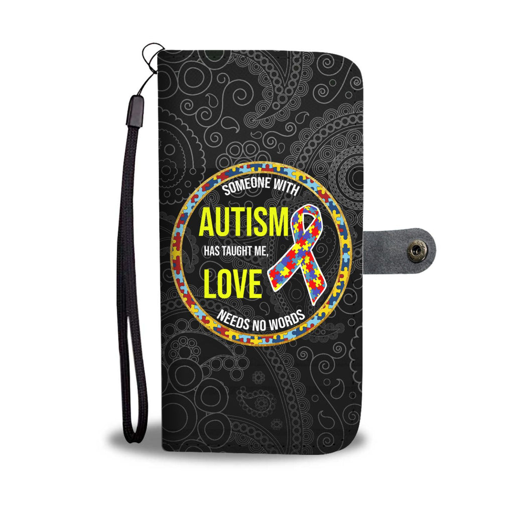 Autism Love Wallet Phone Case