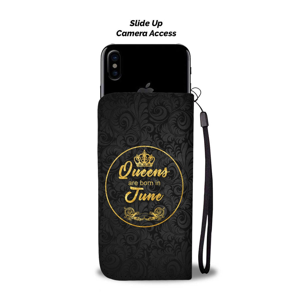 June Queen - Wallet Phonecase