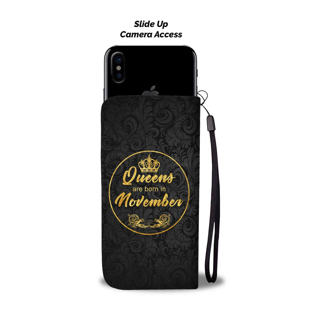 November Queen - Wallet Phonecase