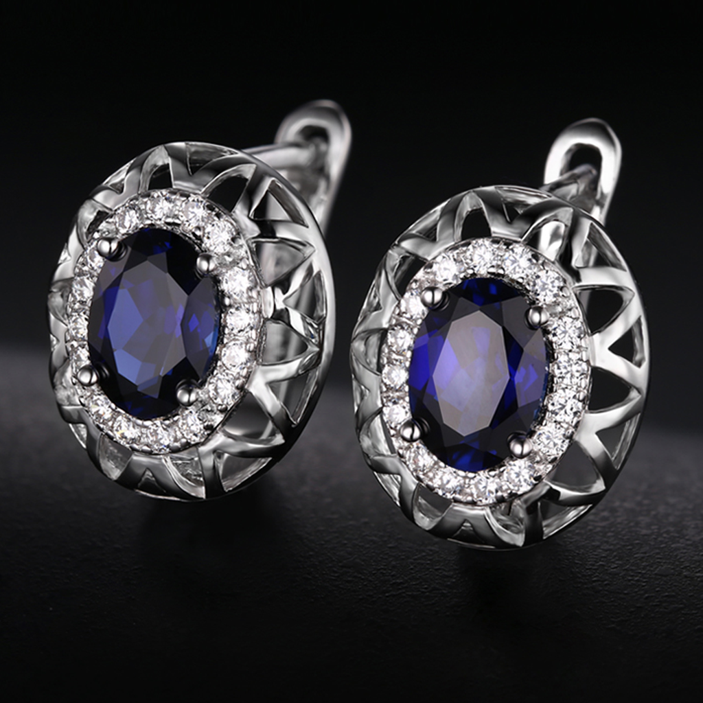 Genuine S925 Sapphire Jewelry Set (September)