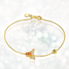 November Citrine Queen Bee Bracelet
