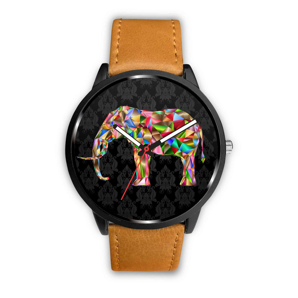 Elephant 3D Mosaic Art - Limited Edition Watch