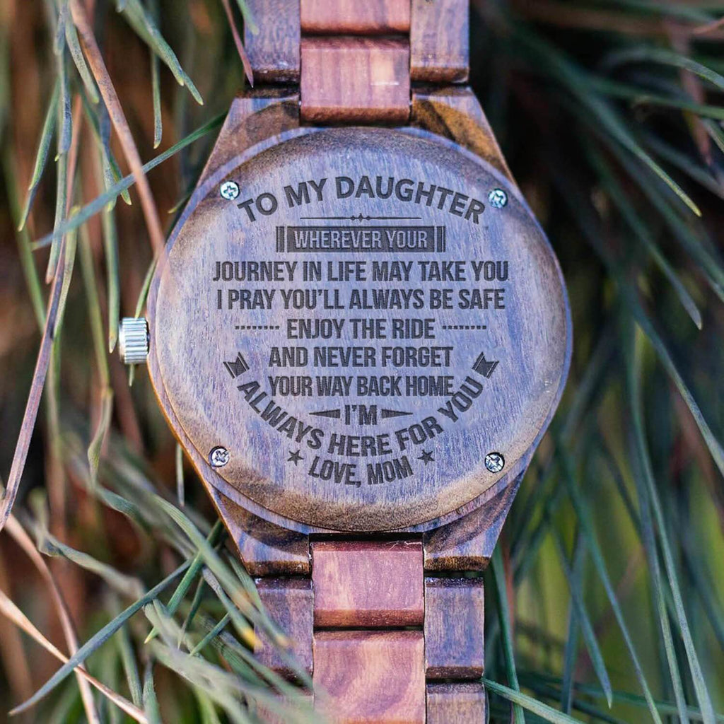 To My Daughter - All Wood Watch