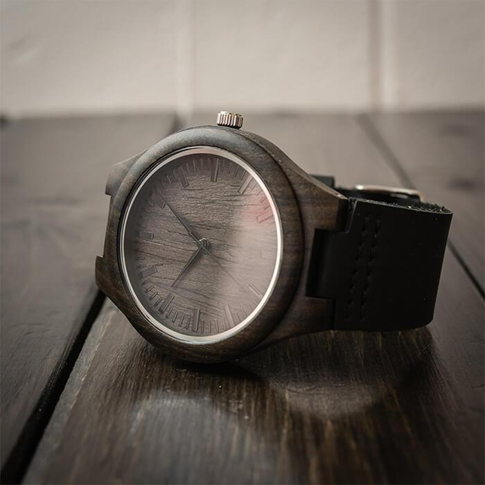 To My Husband - Great Life Partner - Wood Watch