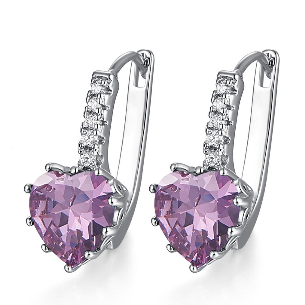 Heart of June Alexandrite Earrings